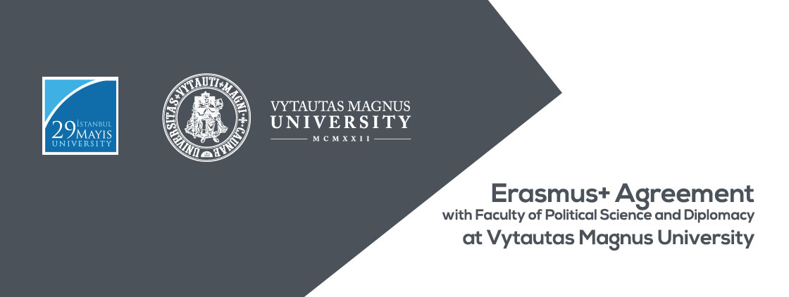 Erasmus+ Agreement with Faculty of Political Science and Diplomacy at Vytautas Magnus University