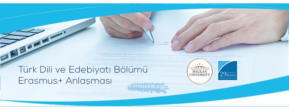 Uluslararası Balkan Üniversitesi ile Erasmus+ Anlaşması