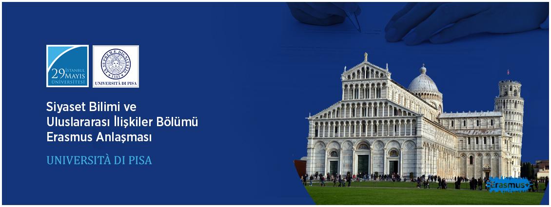 Pisa Üniversitesi İle Erasmus Anlaşması