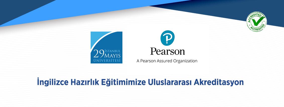 İngilizce Hazırlık Birimimiz Pearson Assured Tarafından Akredite Edildi!