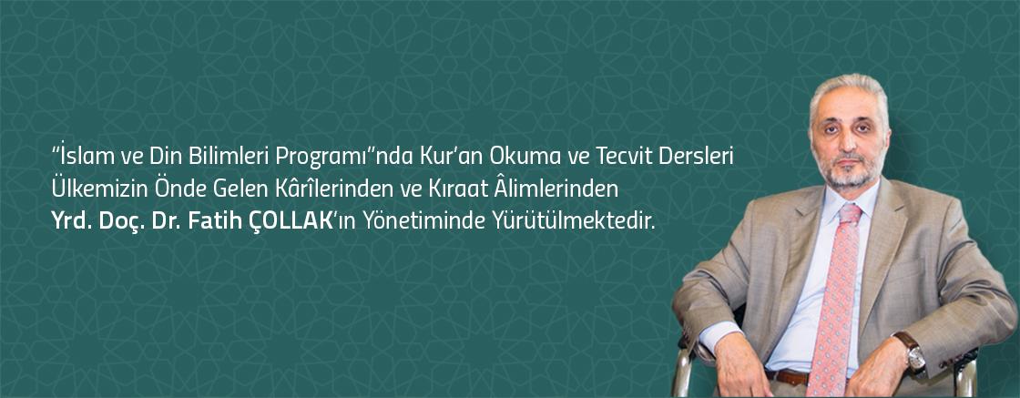 İslam ve Din Bilimleri Programında Kur'an Okuma ve Tecvit Dersleri