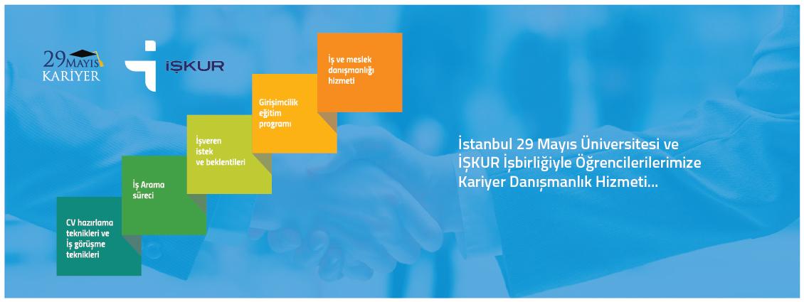 İstanbul 29 Mayıs Üniversitesi ve İŞKUR İşbirliğiyle Öğrencilerilerimize Kariyer Danışmanlık Hizmeti...