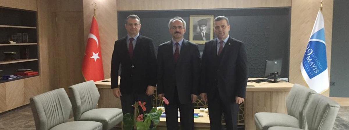 Ahmet Yesevi Üniversitesi'nden Üniversitemize Ziyaret
