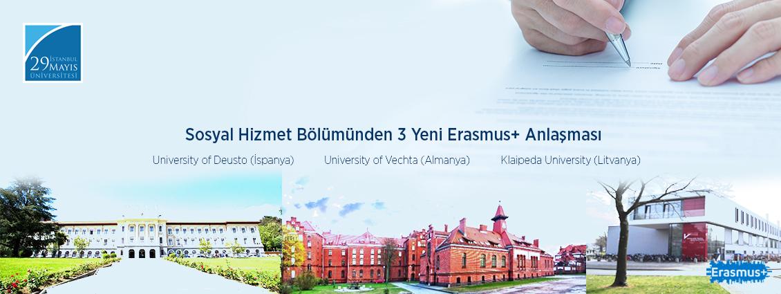 Üniversitemiz Sosyal Hizmet Bölümü Erasmus+ Anlaşmalarına Yenilerini Eklemeye Devam Ediyor!