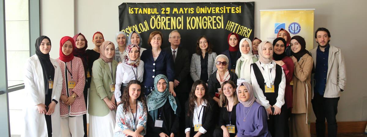 Psikoloji Bölümü ve Psikoloji Öğrenci Kulübünün Katkılarıyla 1. Psikoloji Öğrenci Kongresini Düzenlendi