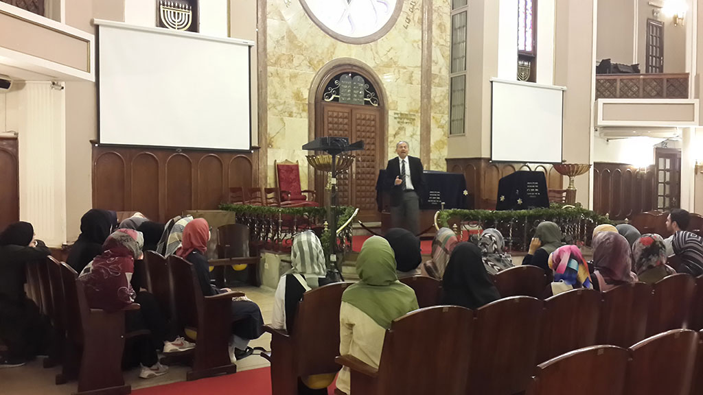 Uluslararası İslam ve Din Bilimleri Fakültesi öğrencilerinden 500. Yıl Vakfı Türk Musevileri  Müzesi Ziyareti