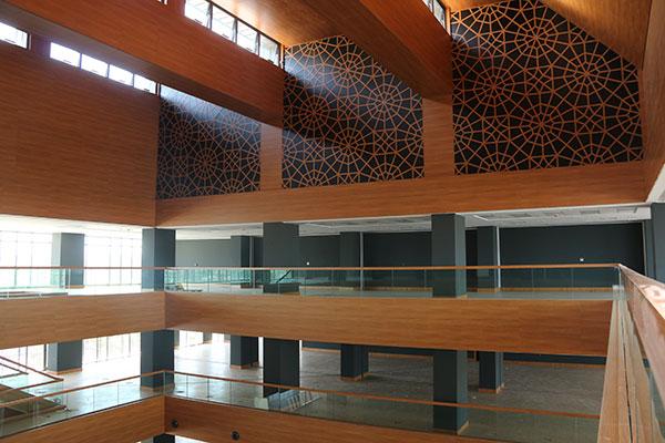 29 Mayıs Üniversitesi Elmalıkent Kampüsü Kütüphanesi