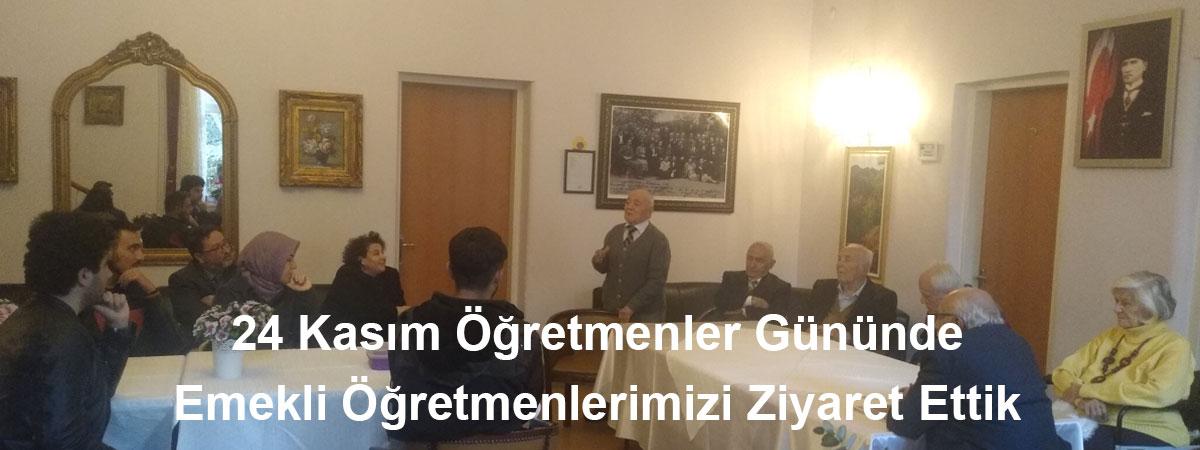 Emekli Öğretmenlerimizi Ziyaret Ettik