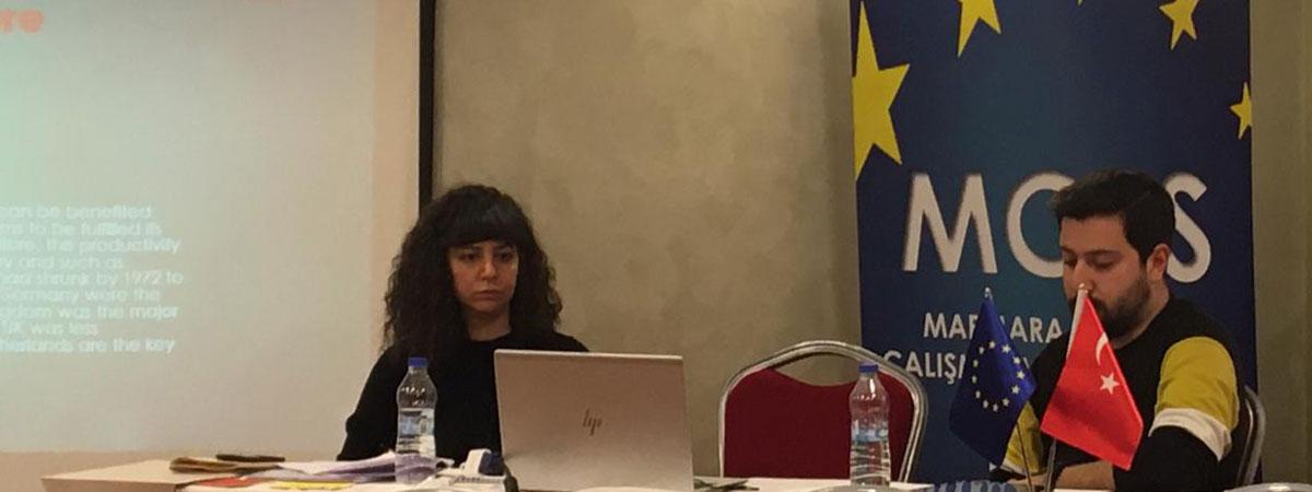Fakülte Öğrenci Temsilcimiz Oğuzhan Barçın Marmara Avrupa Araştırmaları Kongresi'nde Tebliğini Sunmuştur
