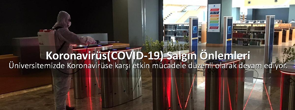 İstanbul 29 Mayıs Üniversitesi'nde Koronavirüse Karşı Etkin Mücadele Düzenli Olarak Devam Ediyor.