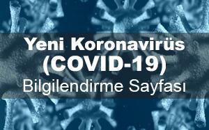 İstanbul 29 Mayıs Üniversitesi Koronavirüs Bilgilendirme Sayfası