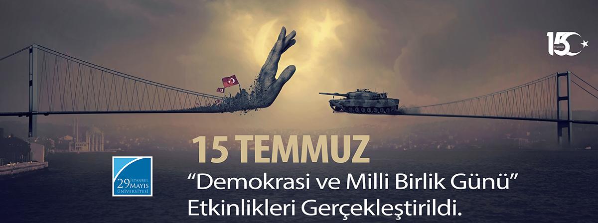 """15 Temmuz """"Demokrasi ve Milli Birlik Günü"""" Etkinlikleri Kapsamında Sergi Açılışı ve """"FETÖ'nün Kur'ân ve Sünnet İstismarı"""" Başlıklı Panel Gerçekleştirildi"""