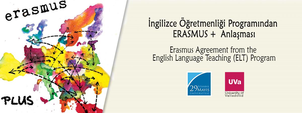 İngilizce Öğretmenliği Programından ERASMUS+ Anlaşması
