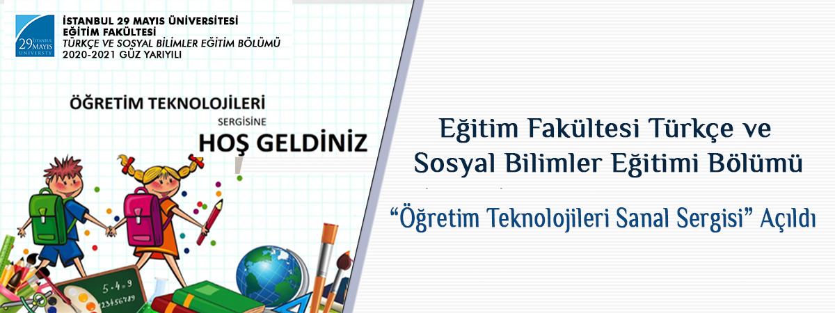Öğretim Teknolojileri Sanal sergisi
