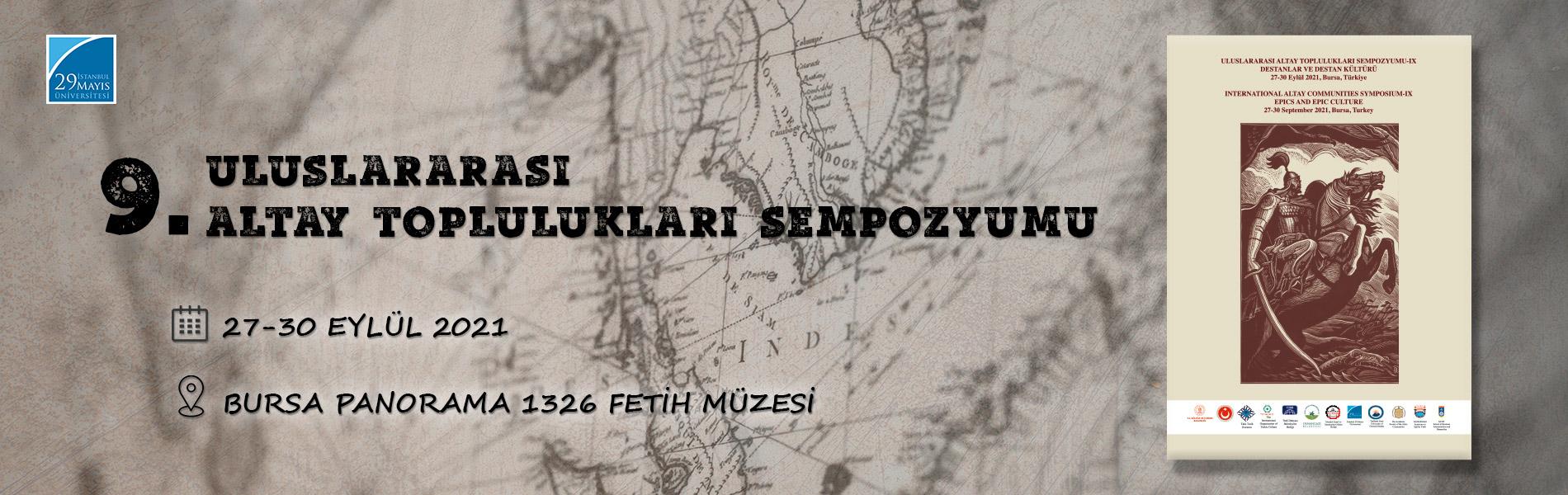 9. Uluslararası Altay Toplulukları Sempozyumu